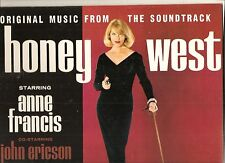 HONEY WEST 60s TV soundtrack LP sexy ANNE FRANCIS CHEESECAKE cover jazz Nr.Mint!