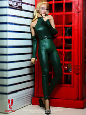 NEW 1/6 Viper's One-piece Leather Suit Set beauty woman