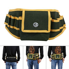 Multi-sidekicks Design Tool Bag Electrician Canvas Pouch Holder With Belt HG