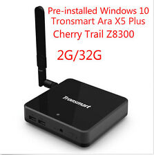 Tronsmart Ara X5 Plus Windows 10 TV Box 2G/32G Cherry Trail Z8300 KODI Quad Core