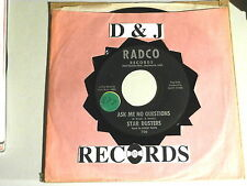 STAR DUSTERS~ ASK ME NO QUESTIONS~ MEGA RARE~ BOBBY FLOYD~ BOPPER ~~ COUNTRY 45