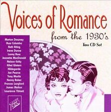 Voices of Romance from the 1930's by Various Artists (CD, 2002, 2 Discs, CD...