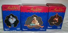 ENESCO ALADDIN JASMINE GENIE ABU Ornament Lot 3 Holiday Wishes Magic Carpet Ride