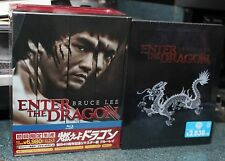 BRUCE LEE ENTER THE DRAGON 40TH ANNIVERSARY PACKAGE STEELBOOK SHIRT JAPAN IMPORT