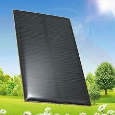 5V 1W 200mA Solar Panel USB Battery Charger Travel Fit Mobile Phone Power New