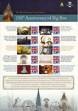 CSS-005 -150th Anniversary of Big Ben Commemorative Stamp Sheet