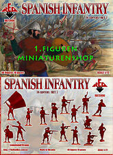 1:72 FIGUREN 72096 SPANISH INFANTRY (16th Century) Set 1 - REDBOX