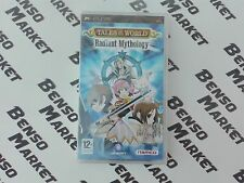 TALES OF THE WORLD RADIANT MYTHOLOGY JRPG SONY PSP PAL ITALIANO NUOVO SIGILLATO