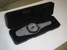 "Sturtevant Richmont Memory Dial Torque Wrench, 0-150 Lbf/In, 3/8"" Square Dr"