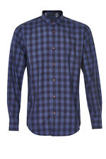 Matinique Allan Check Shirt/Blue - Large WAS £64.95