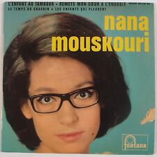 "NANA MOUSKOURI: L'Enfant Au Tambour FONTANA 7"" 45 w/ PS French"