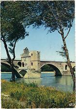84 - cpsm - AVIGNON - Le pont Saint Bénézet et la chapelle Saint Nicolas