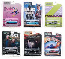 HOLLYWOOD SERIES / RELEASE 6, SET OF 6 CARS 1/64 BY GREENLIGHT 44660