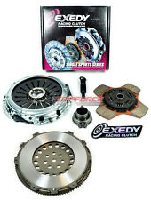 EXEDY STAGE 2 CLUTCH KIT+CHROMOLY FLYWHEEL EVOLUTION EVO 4 5 6 7 8 9 TURBO 2.0L