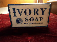 VINTAGE ORIGNAL  WWII 1940's PROCTER & GAMBLE IVORY SOAP BAR Large  nr