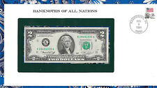 Banknotes of All Nations United States 1976 $2 UNC K28491935A Dallas Birthday