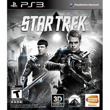 STAR TREK PS3! CAPTAIN KIRK, SPOCK, GORN ALIENS, GUN, ENTERPRISE LEGACY. 3D
