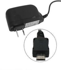 LOT OF 4 NEW HOME CHARGER MICRO FOR MOTOROLA BLACKBERRY LG SAMSUNG WALL TRAVEL