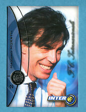 INTER CARDS 2000 DS - Figurina/Sticker/card - n. 2 - MASSIMO MORATTI