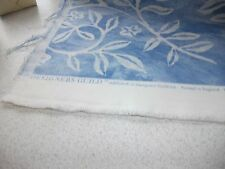 VINTAGE  PIECE OF DESIGNERS GUILD ARISUKA  UPHOLSTERY STYLE  FABRIC BLUES