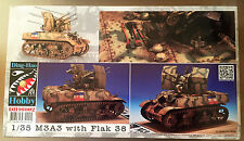 DING-HAO HOBBY DH96002 - 1/35 M3A3 with FLAK 38 - NUOVO