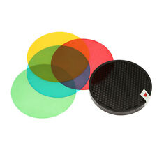 Godox AD-S11 Color Filter Honeycomb Grid Cover Gel Pack/Reflector Kit photograph