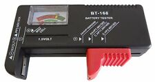 AA/AAA/C/D/9V Universal Button Cell Battery Volt Tester *US FAST FREE SHIPPER*