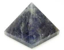PYRAMID - IOLITE 25-30mm Crystal w/Pouch & Description - Healing Reiki Stone