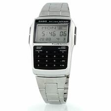 NEW CASIO DATABANK CALCULATOR METAL WATCH DBC32D-1