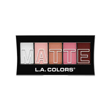 L.A. Colors Makeup Silky Smooth Matte Eyeshadow Palette CEM476 Pink Chiffon