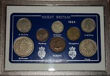 1954 Vintage Coin Set 62nd Birthday Birth Year Present Wedding Anniversary Gift