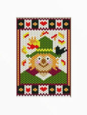 Friendly Fall Scarecrow Beaded Banner Pattern