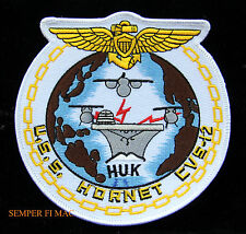USS HORNET CVS-12 PATCH CV CVA US NAVY CARRIER HUK WING NAVAL AVIATOR PILOT WING