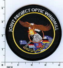 USAF Joint Project Optic Windmill PATCH old-stock ! Air Force NATO exercise JPOW