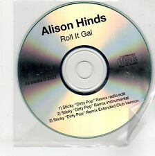(EG216) Alison Hinds, Roll It Gal - 2007 DJ CD