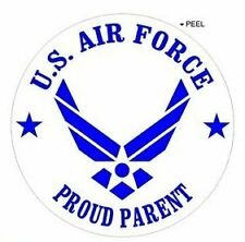 """Proud Parent - United States Airforce Wings USAF - Window Bumper Sticker 2.5"""""""