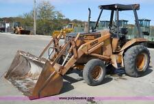 CASE TRACTOR 580D 580 D BACKHOE LOADER WORKSHOP FACTORY SERVICE MANUAL