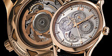 Carl Bucherer 18K Rose Gold Manero Perpetual Calendar Moonphase Automatic. Mint