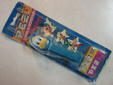 PEZ VINTAGE CANDY & DISPENSER WITH DISNEY CHARACTERS ON CARD DONALD DUCK UNUSED