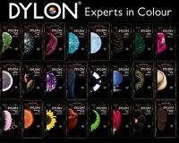 50g PACK DYLON FABRIC CLOTHES HAND WASH DYE COLOURING CHANGING COLOURS AVAILABLE