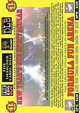 FREEDOM RUSH Rave Flyer Flyers 31/12/96 A4 The Formula Fun Arena Acton London