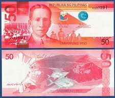 PHILIPPINEN  PHILIPPINES 50 Piso 2010  UNC  P. 207