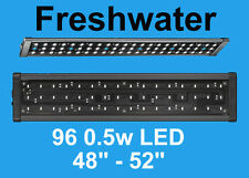 "AQUARIUM LED OVERTANK LIGHT TROPICAL BRIGHT LED LIGHTING 48"" EXTENDABLE 120CM"