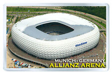 ALLIANZ ARENA STADIUM MUNICH GERMANY FRIDGE MAGNET SOUVENIR IMAN NEVERA