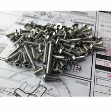Stainless steel screws Set For AE SC10 4x4 ZZRACING