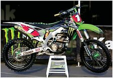MONSTER ENERGY SUPERCROSS RACE BIKE GIANT POSTER ryan villopoto motocross KXF450