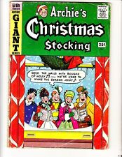 Archie Giant 6: Christmas Stocking (1959): FREE to combine- in Good+  condition