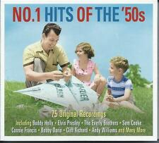 No. 1 Hits Of The '50s - 75 Original Recordings (3CD 2014) NEW/SEALED