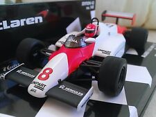 #8 McLaren MP4/1C Lauda USA GP West 1983 Diecast Model F1 Car 1/43 Minichamps