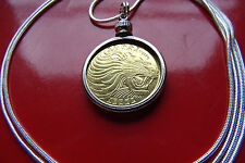 """BIG CAT JEWELRY, PROUD ROARING LION Pendant on a 30"""" 925 Silver Snake Chain."""
